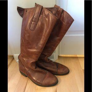 Miz Mooz size 8 leather riding boots